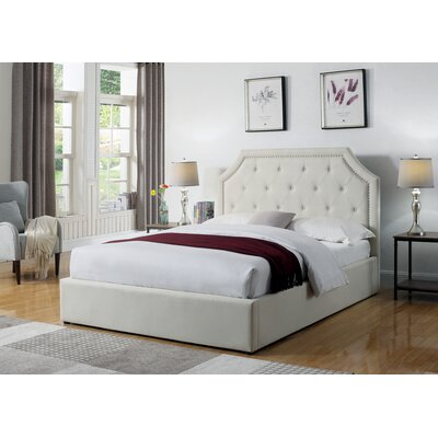 Greig Upholstered Panel Bed Size: Full