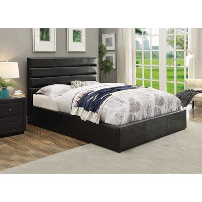 Olvera Upholstered Panel Bed Size: California King