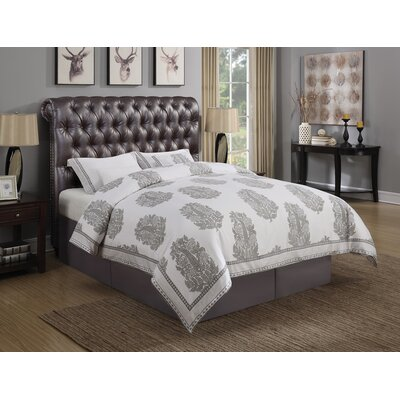 Leilani Upholstered Panel Bed Size: Queen