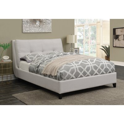 Omeara Upholstered Panel Bed Size: California King