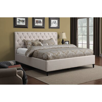 Leilani Upholstered Panel Bed Size: Eastern King