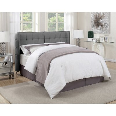 Gillis Upholstered Panel Bed Size: California King