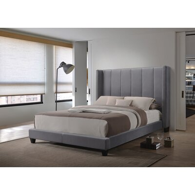 Gillham Upholstered Panel Bed Size: Queen