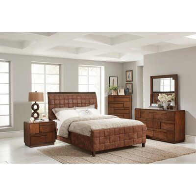 Jablonski Upholstered Panel Bed Size: Twin