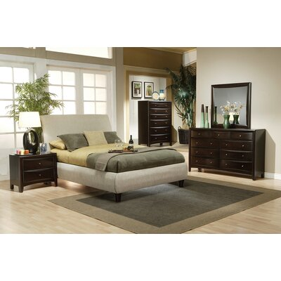 Christen Upholstered Panel Bed Size: Queen