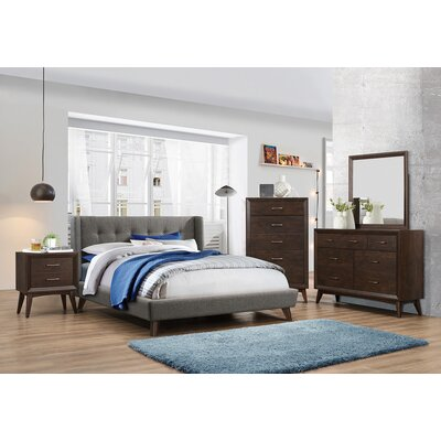 Gillies Upholstered Panel Bed Size: Eastern King
