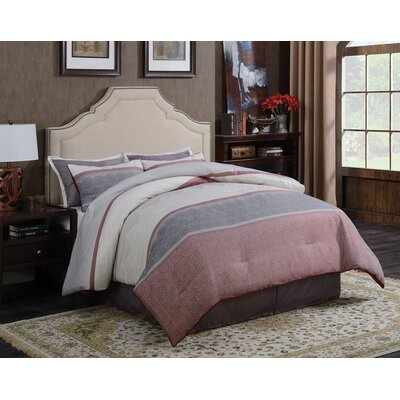 Kemper Upholstered Panel Bed Size: California King
