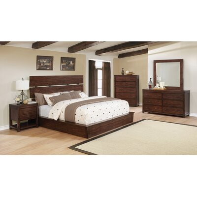 Reichel Storage Panel Bed Size: California King