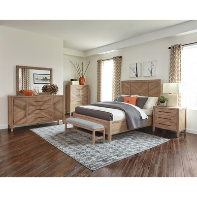 Ikin Panel Bed Size: California King
