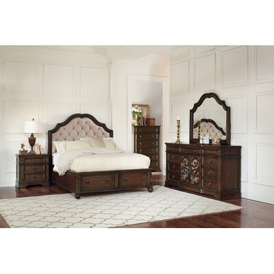Dunton Storage Platform Bed Size: California King