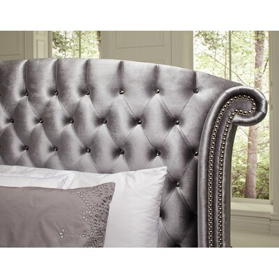 Hadaway Upholstered Platform Bed Size: Queen