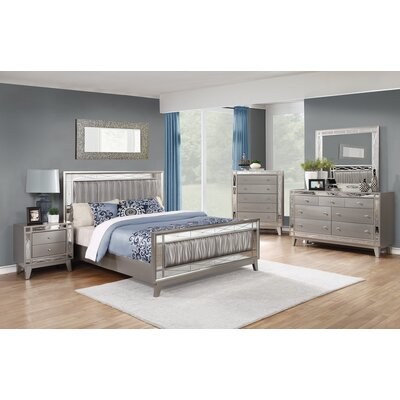 Lawless Upholstered Panel Bed Size: California King