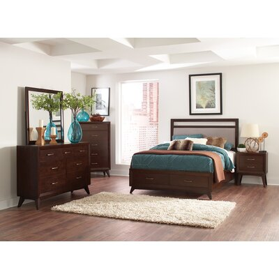 Granberry Upholstered Storage Platform Bed Size: Queen