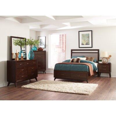 Granberry Upholstered Storage Platform Bed Size: California King