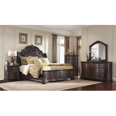 DuPalais Upholstered Panel Bed Size: Queen