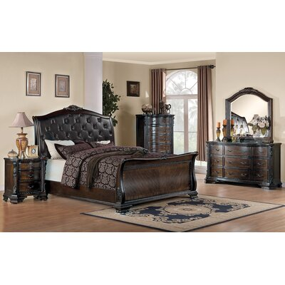 Broadview Upholstered Platform Bed Size: California King
