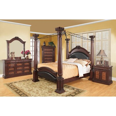 Broadwater Canopy Bed Size: Eastern King