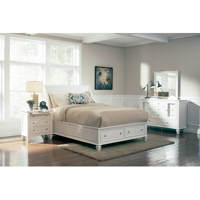 Shirely Storage Platform Bed Size: California King