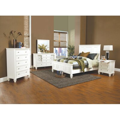 Higginson Storage Panel Bed Size: California King