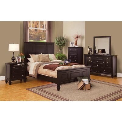 High Littleton Storage Panel Bed Size: California King
