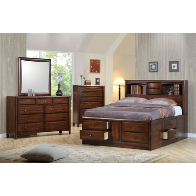 Crown Heights Storage Platform Bed Size: Eastern King