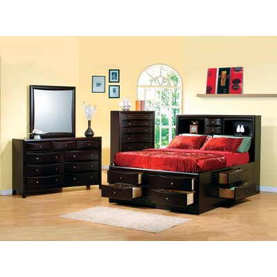 Crowson Storage Platform Bed Size: Eastern King