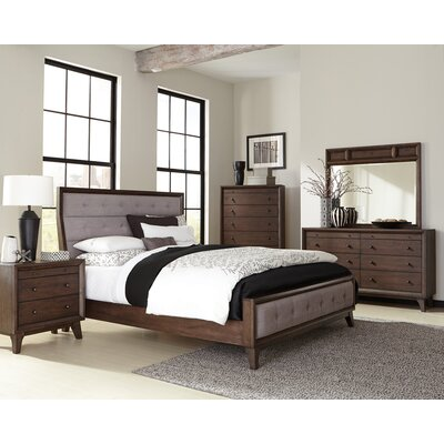 Vicente Upholstered Panel Bed Size: Eastern King