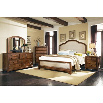 Queener Panel Bed Size: California King