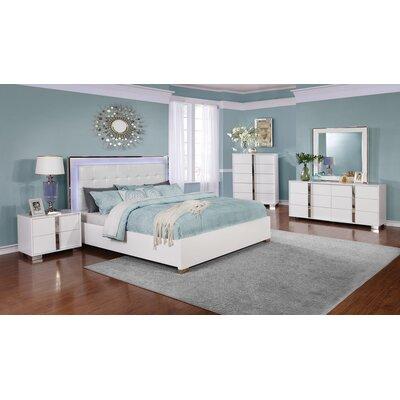 Redus Upholstered Storage Platform Bed Size: California King