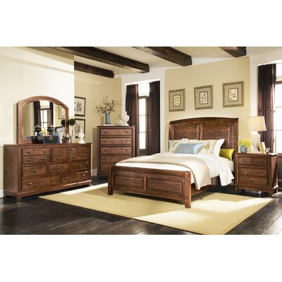Shirl Panel Bed Size: California King
