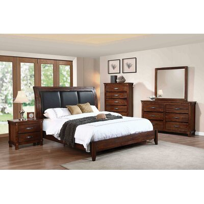 Brockenhurst Storage Panel Bed Size: Queen
