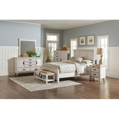 Coughlin Storage Panel Bed Size: California King