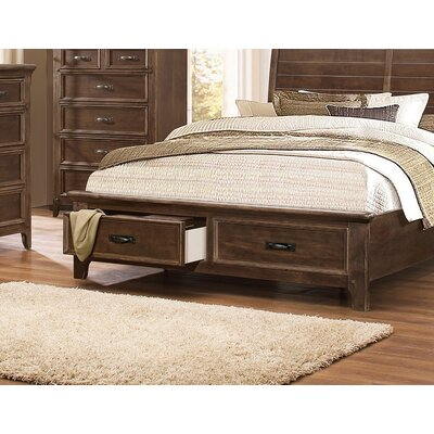 Reichert Storage Platform Bed Size: Queen