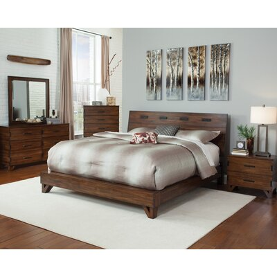 Conde Platform Bed Size: California King