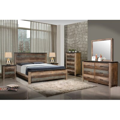 Reidy Panel Bed Size: California King
