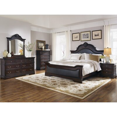 Shirleen Upholstered Panel Bed Size: Queen