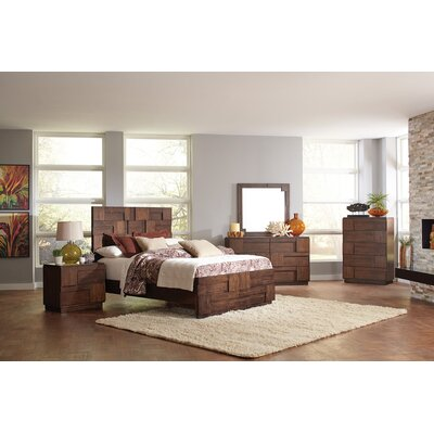 Grandstaff Panel Bed Size: California King