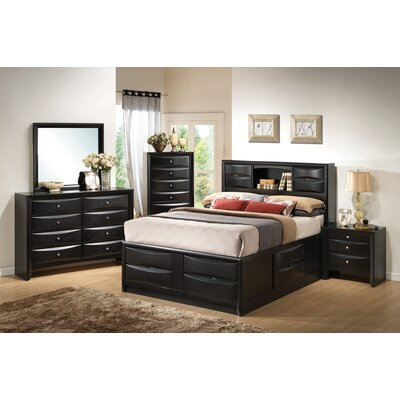 Croyle Storage Platform Bed Size: California King