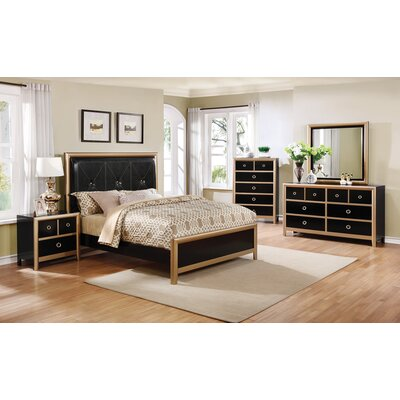 Litvak Upholstered Panel Bed Size: Eastern King