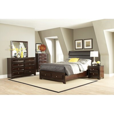 Crozier Upholstered Storage Platform Bed Size: California King