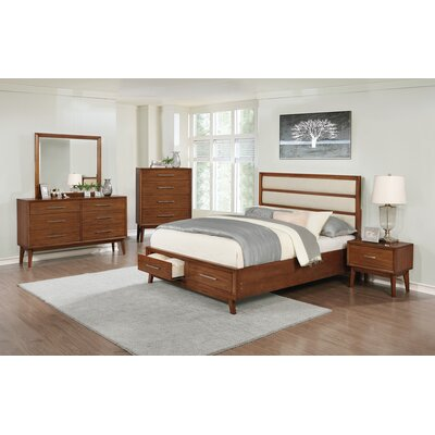 Rehberg Upholstered Storage Platform Bed Size: Queen