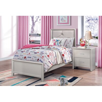 Lawncrest Upholstered Storage Panel Bed Size: Queen