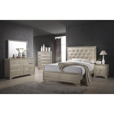 Lawrence Hill Upholstered Storage Panel Bed Size: Queen