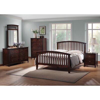 Flint Storage Panel Bed Size: Eastern King