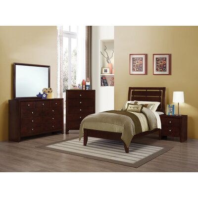 Novello Panel Bed Size: California King