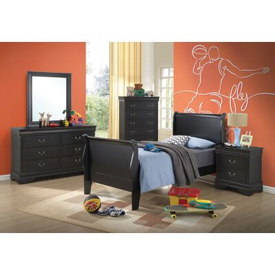 Crume Storage Sleigh Bed Size: Full