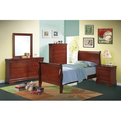 Crump Sleigh Bed Size: Eastern King