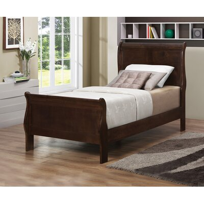 Forest Sleigh Bed Size: Queen