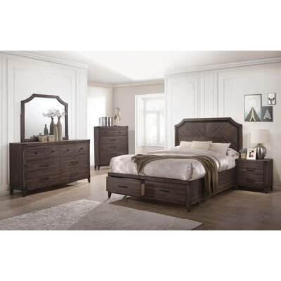 Vicknair Storage Platform Bed Size: Queen