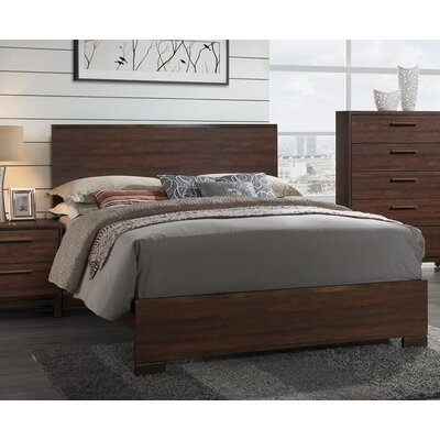 Demars Panel Bed Size: California King